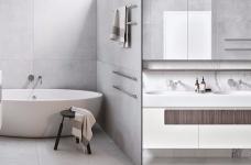简约风格两居室带浴缸图_5
