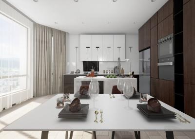 现代风格3居室120㎡