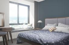 北欧风格2居室85㎡图_3