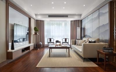 143平新中式风格家居装修