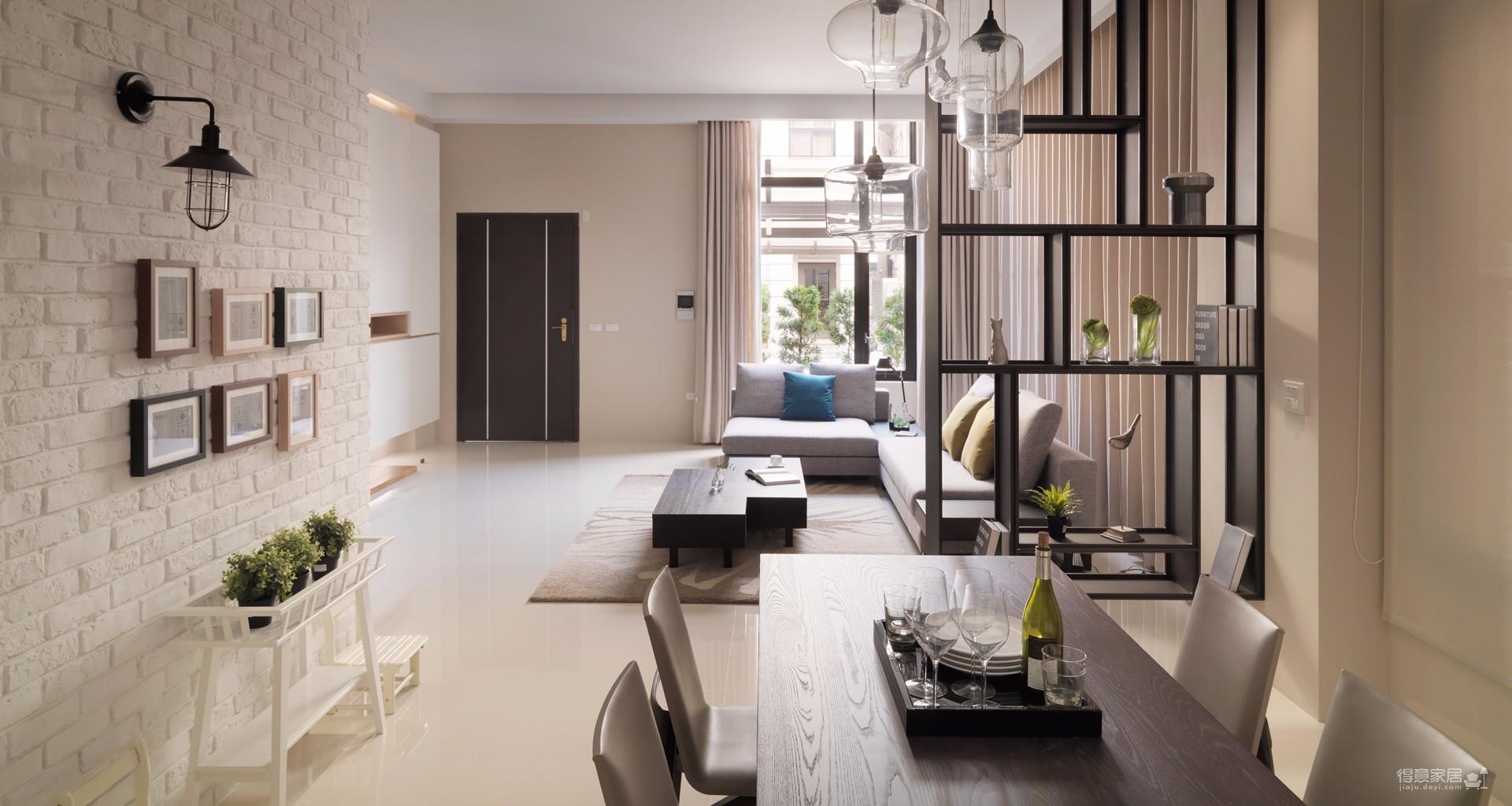 两居室北欧轻奢风格精选案例
