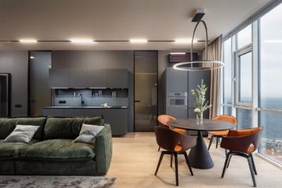 68㎡时尚小公寓,气质简约的小窝,很喜欢