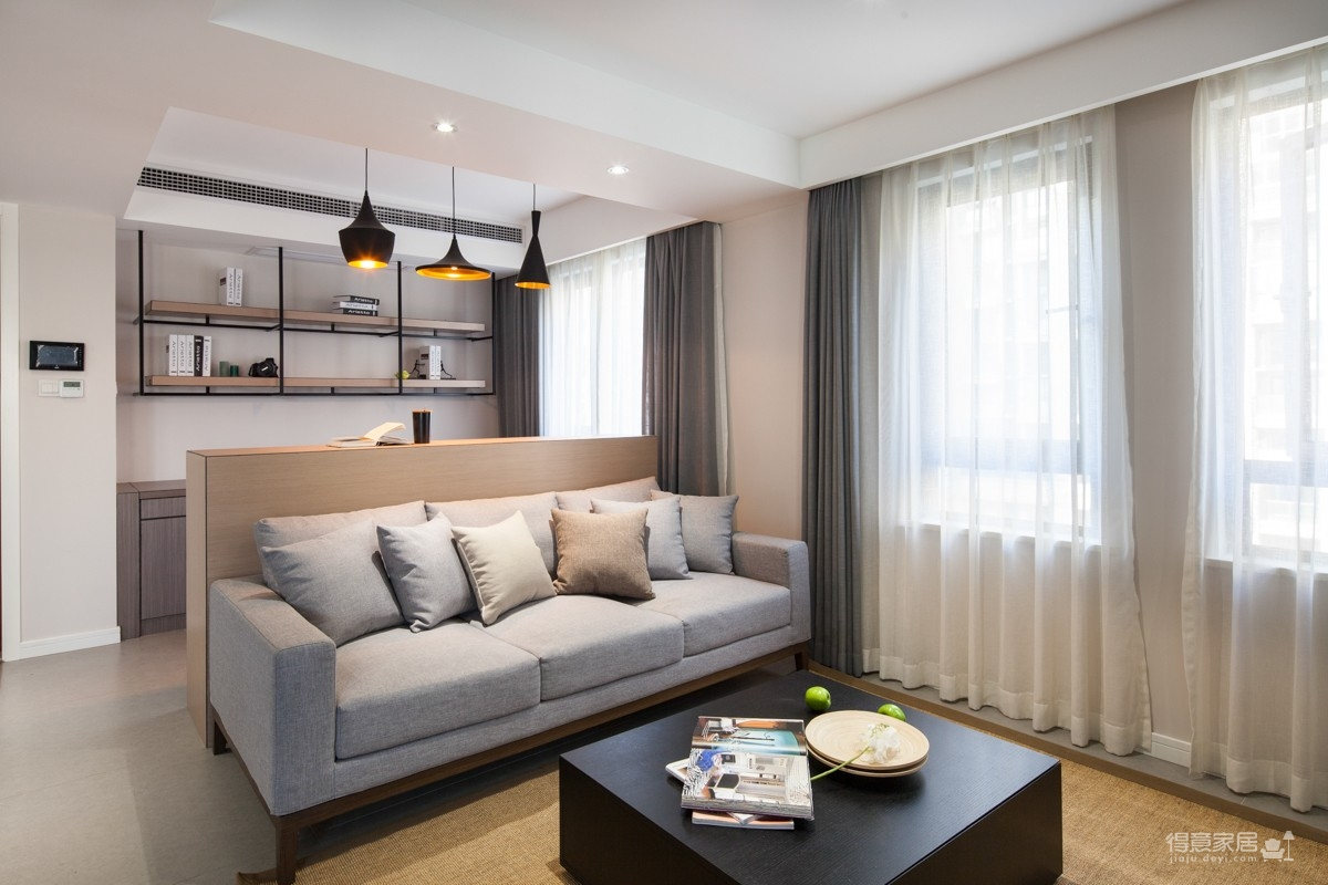 星光国际混搭风格家居装修设计图_1