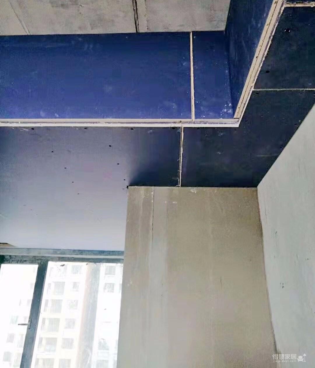 《喜瑞都》住宅样板间墙面铺贴进行中图_4