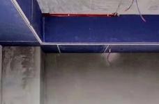 《喜瑞都》住宅样板间墙面铺贴进行中图_6