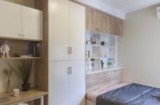 三居室日式风格精选案例图_9