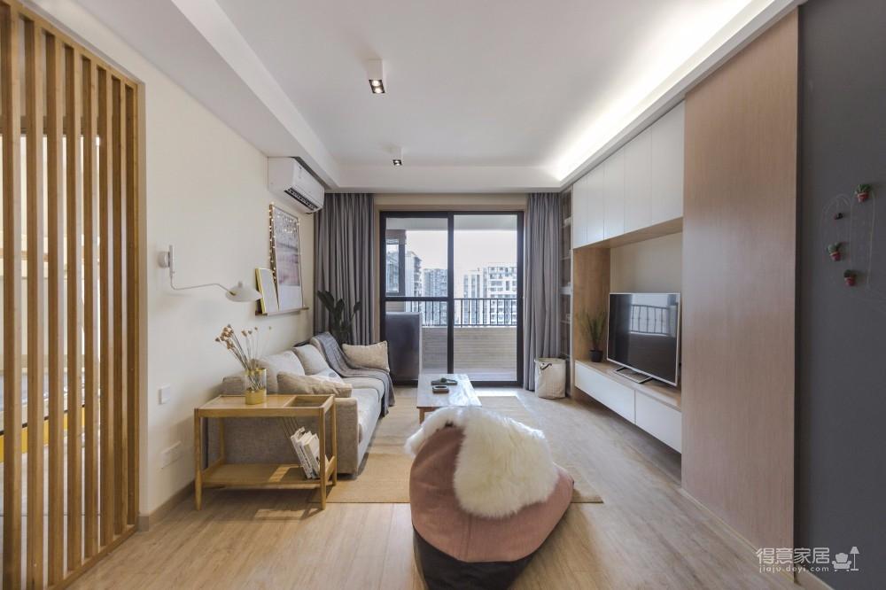 三居室日式风格精选案例图_5