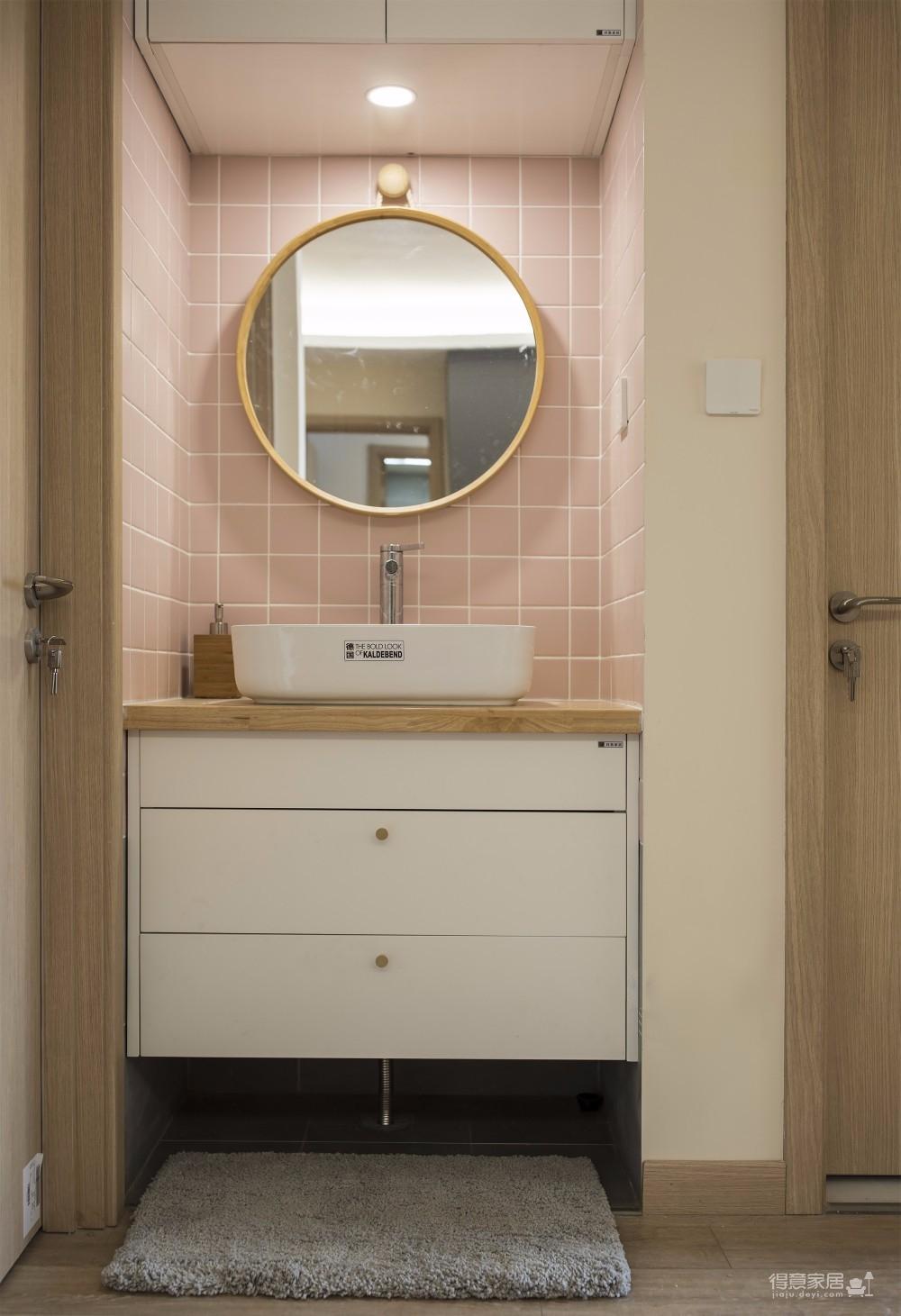 三居室日式风格精选案例图_15