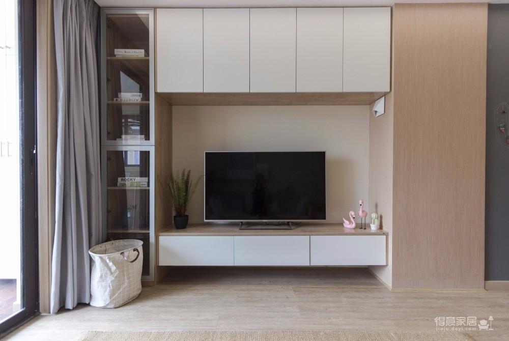 三居室日式风格精选案例图_6