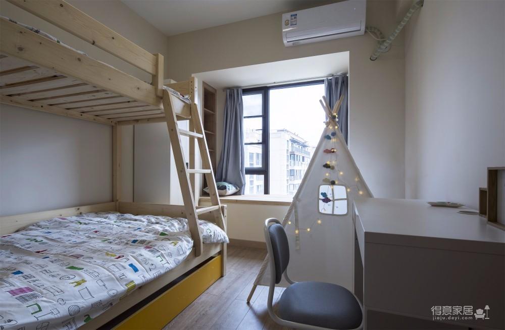 三居室日式风格精选案例图_10