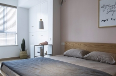 三居室日式风格精选案例图_11