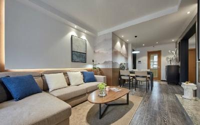 现代简约风格三居室,简单实用又温馨舒适!