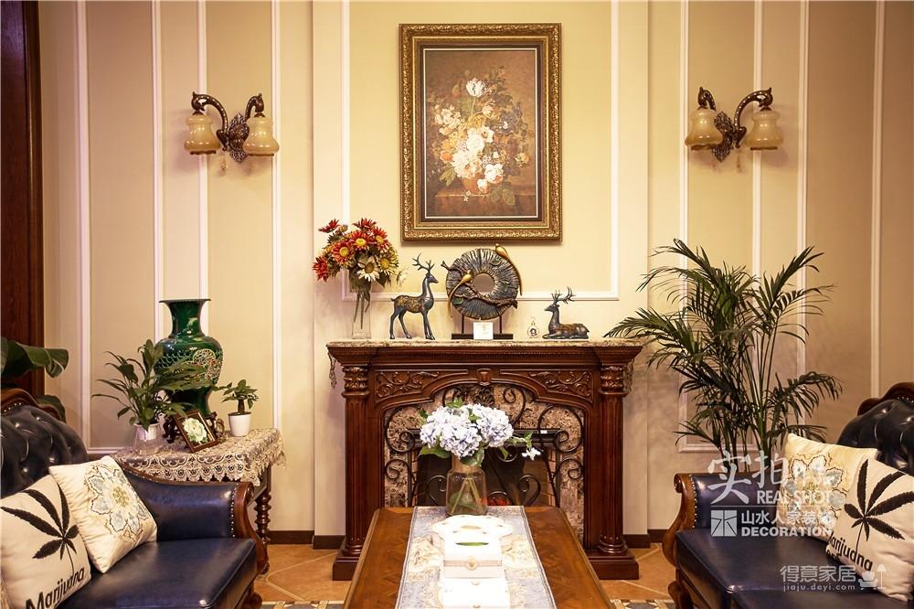 高尔夫国际四房两厅别墅古典美式