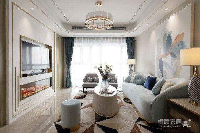 现代轻奢风格家居设计图_1