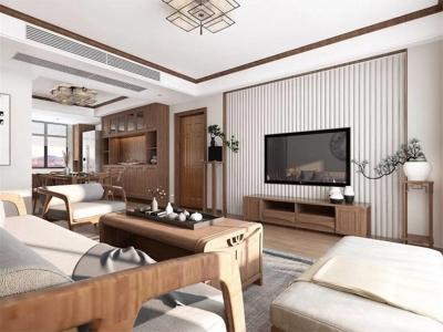 盘龙湾荷苑-现代中式-月朗星稀的内敛之家