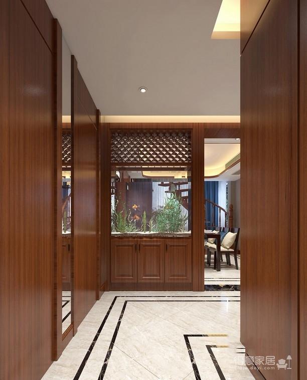 中式新禅 220平米复式装修