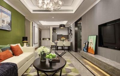 复地东湖国际三期后现代家居装修设计