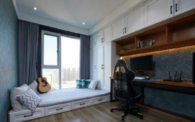 温馨舒适现代风四居室