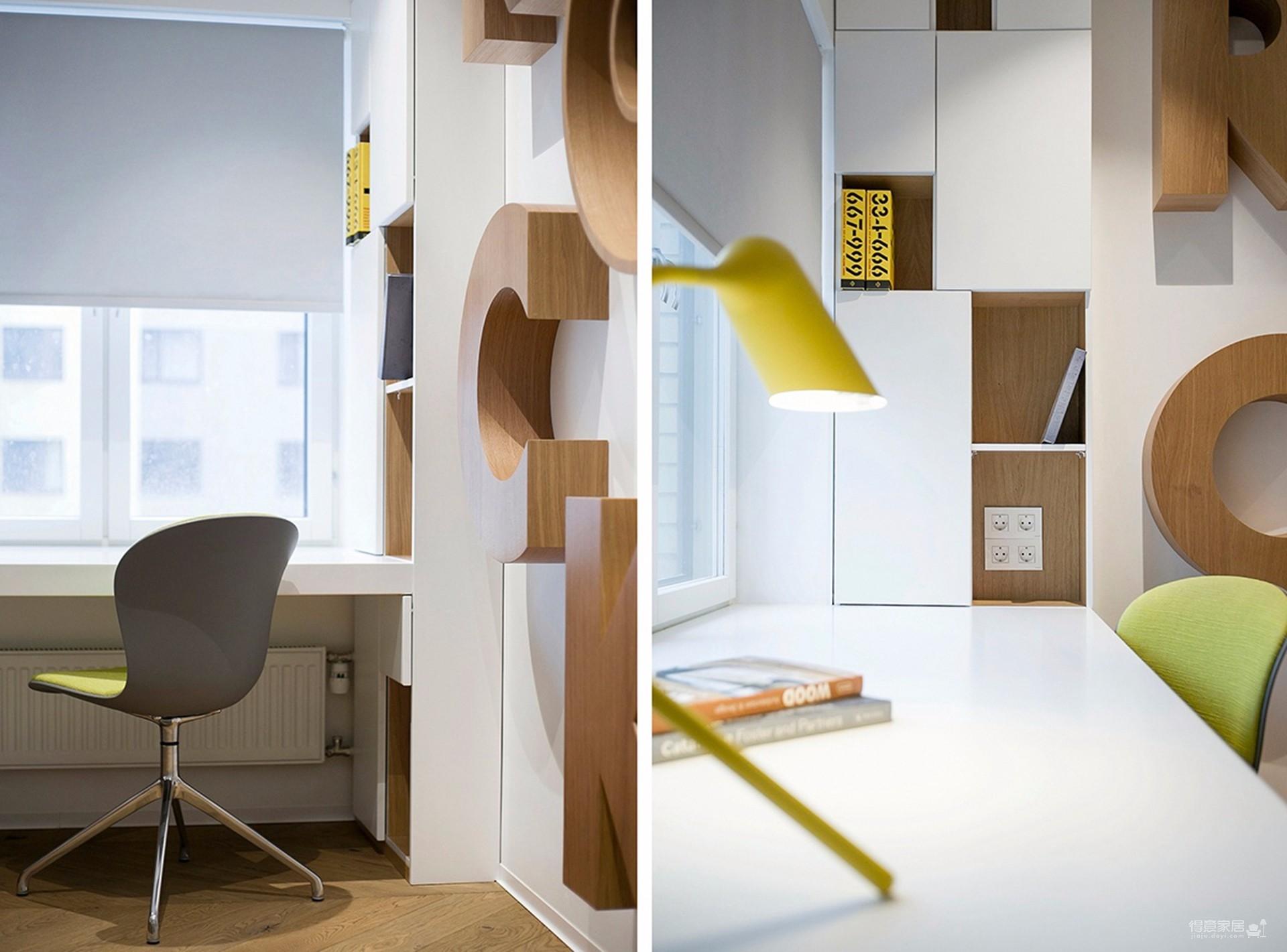 韩式风格,两房两厅图_7