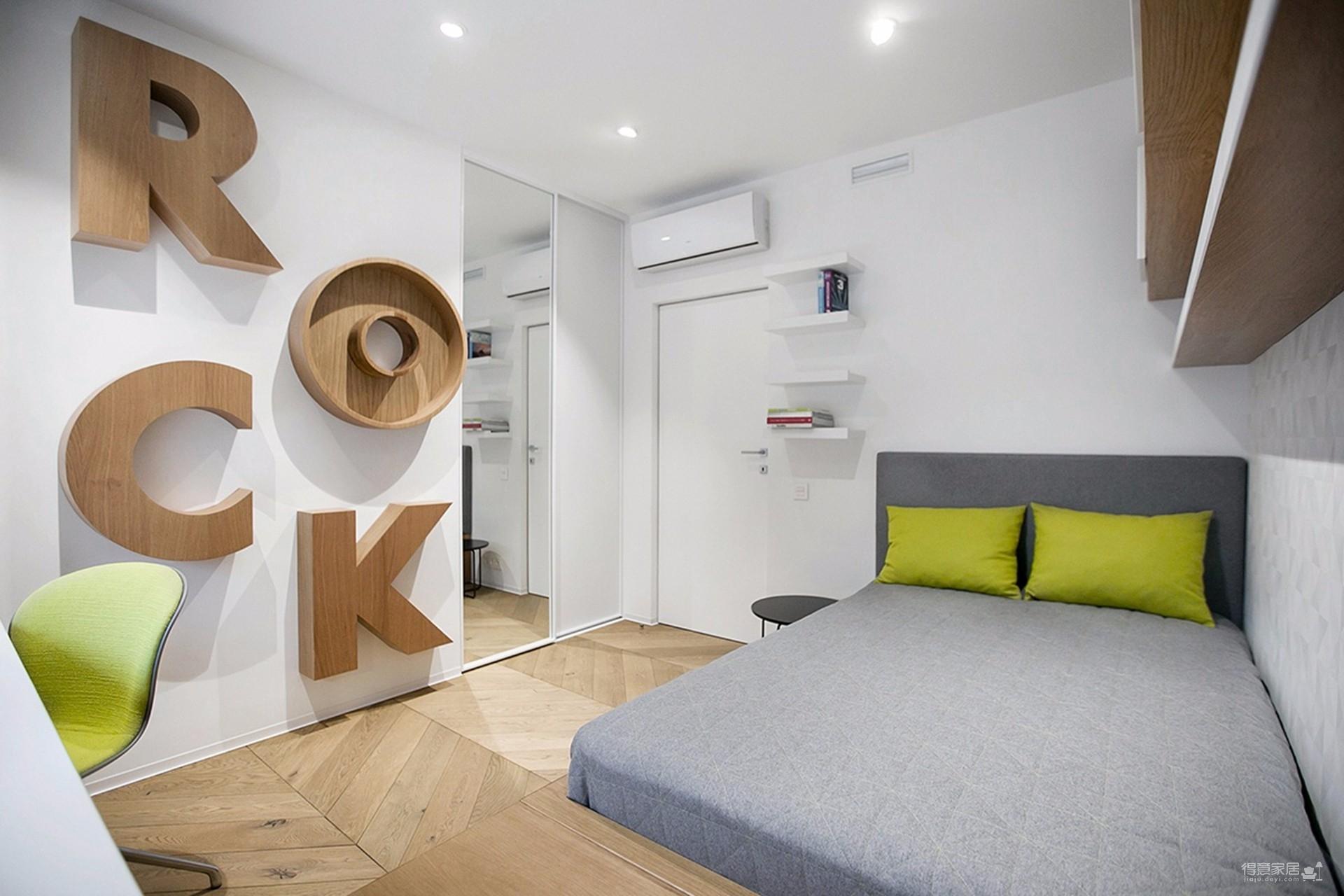 韩式风格,两房两厅图_5