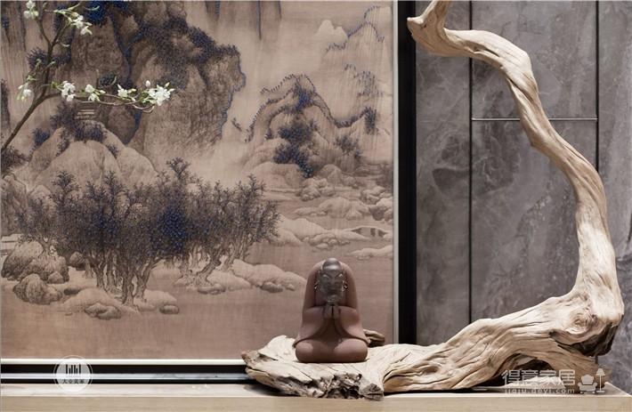 中国院子 300㎡ 返璞归真、精挑细琢的美