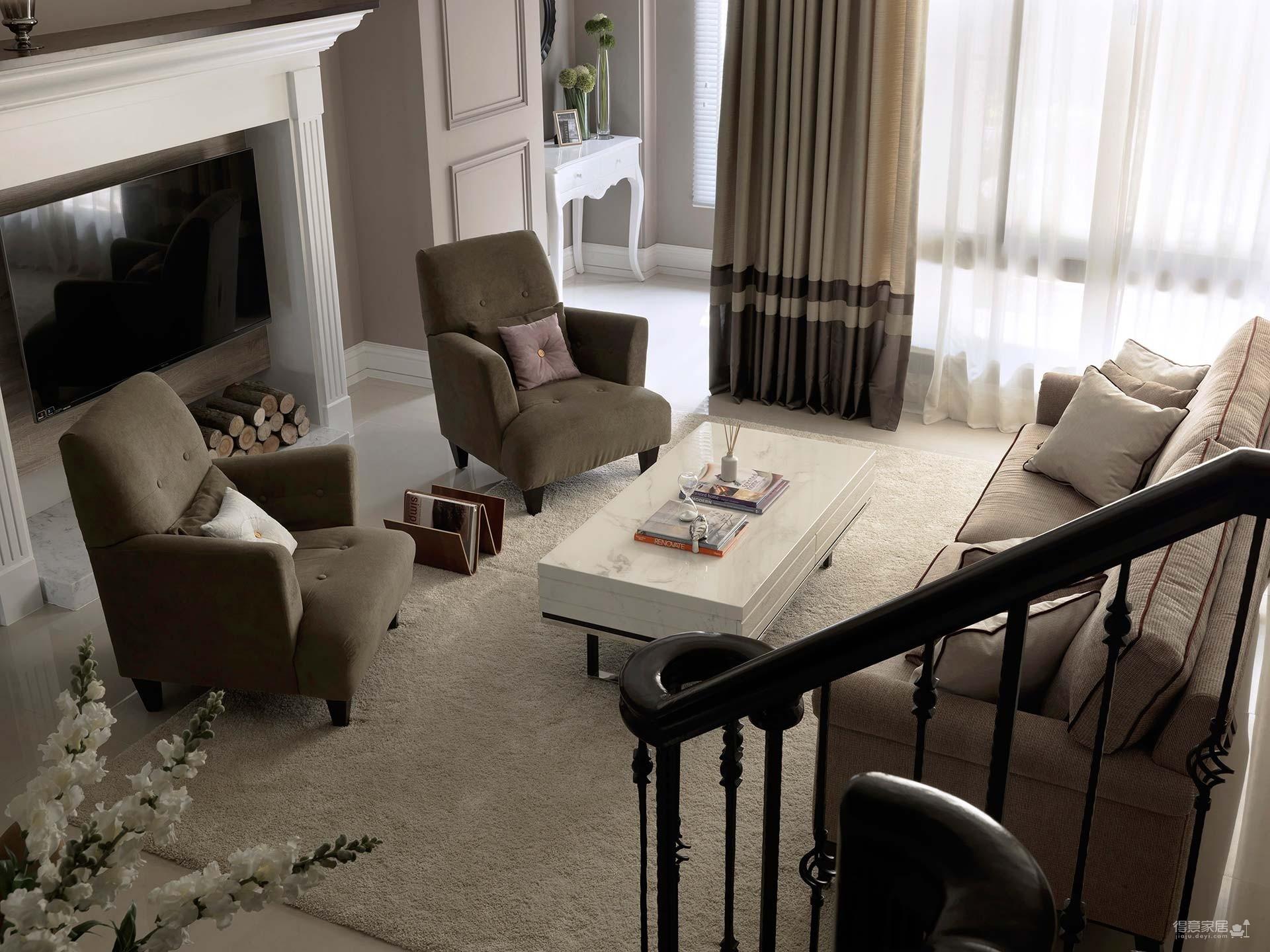 【新古典】172平四室 风姿绰约的新古典居宅