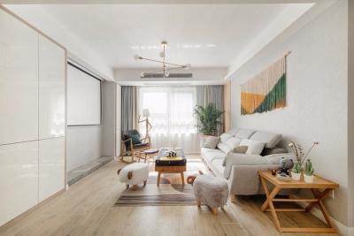 现代北欧风两室一厅小空间大利用