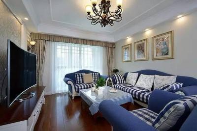 【美式】120平三室简美之家