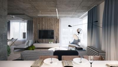 现代北欧风二居室精选案例