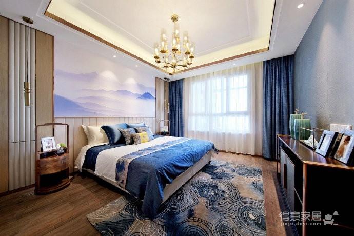 新中式三居室风格