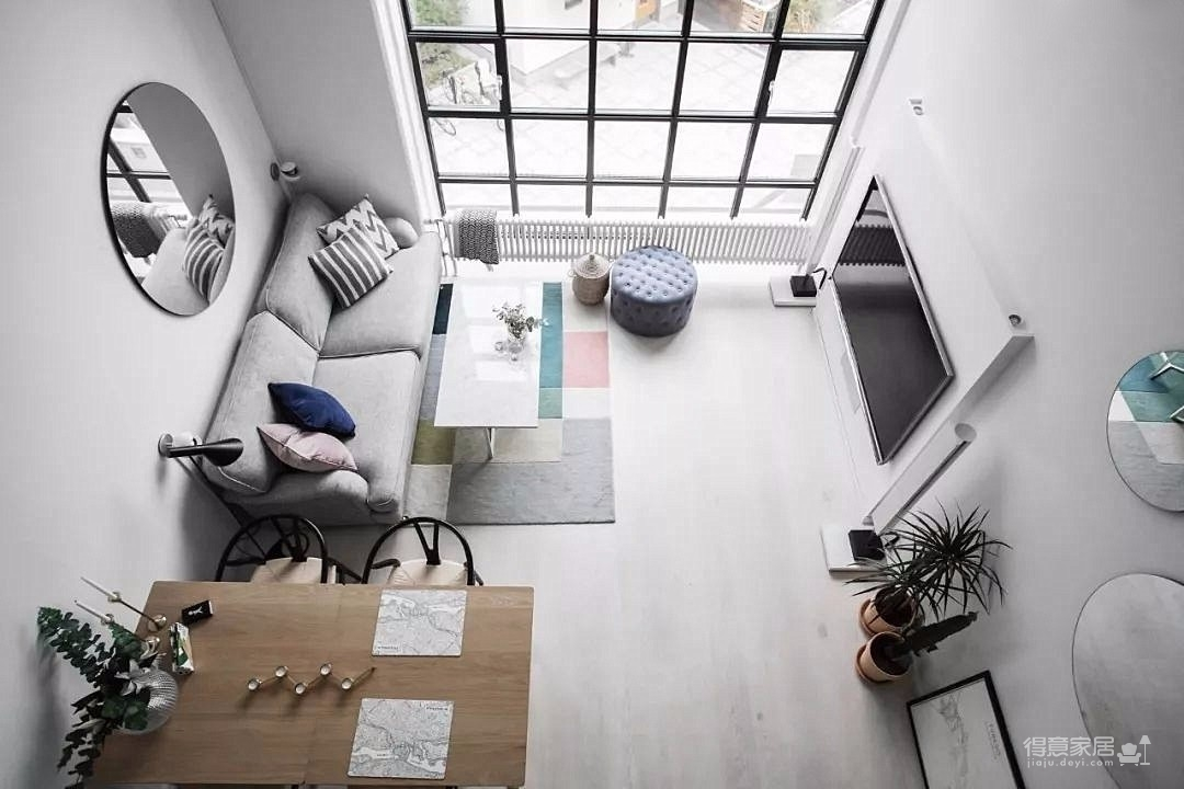 两室一厅小型别墅商务风