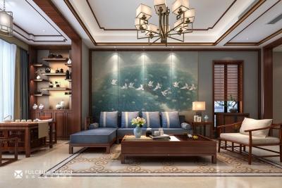 汉阳 . 碧桂园别墅——300平新中式