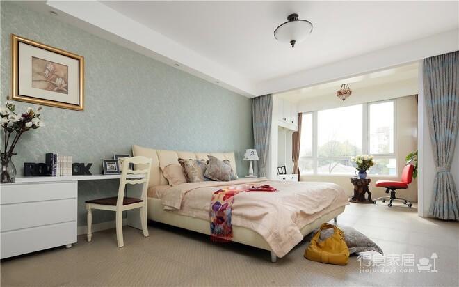 【新古典】140平三室两厅新古典风