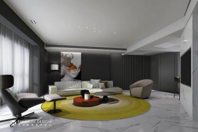 南湖时尚城——200平现代