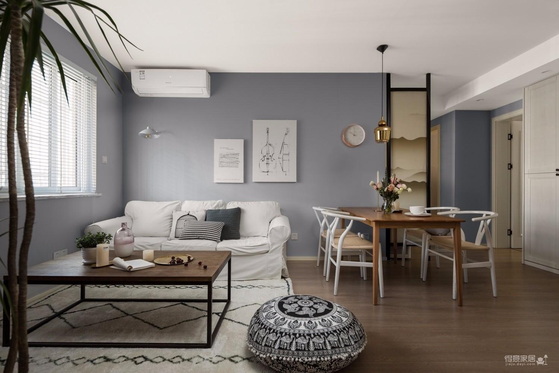 现代新中式三居室案例鉴赏图_3