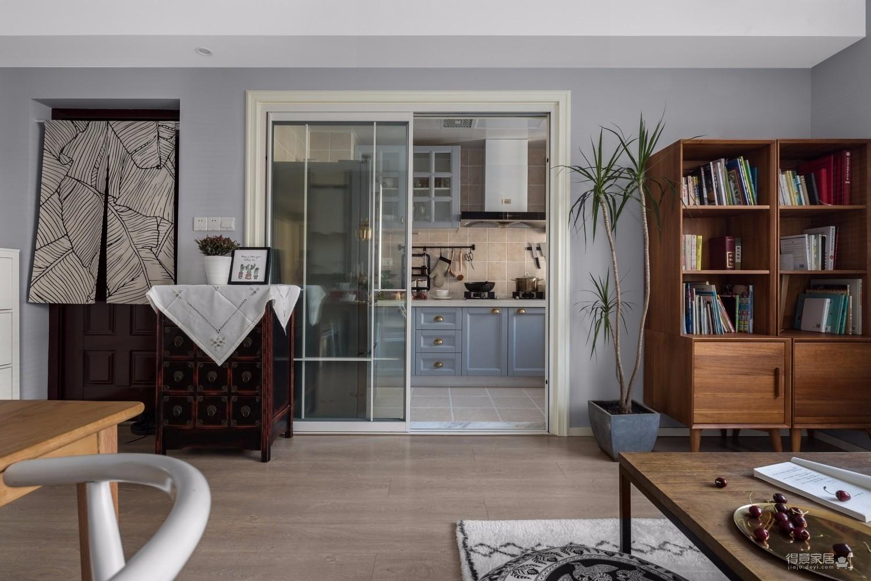 现代新中式三居室案例鉴赏图_2