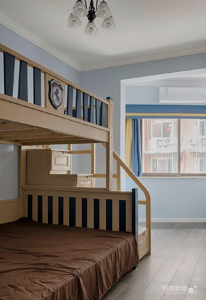 简约美式风格三居室设计,暖暖的温馨美家! 