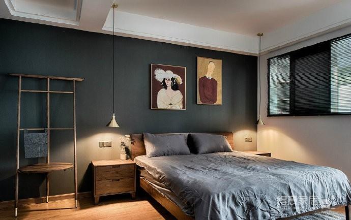 现代美式混搭三居室
