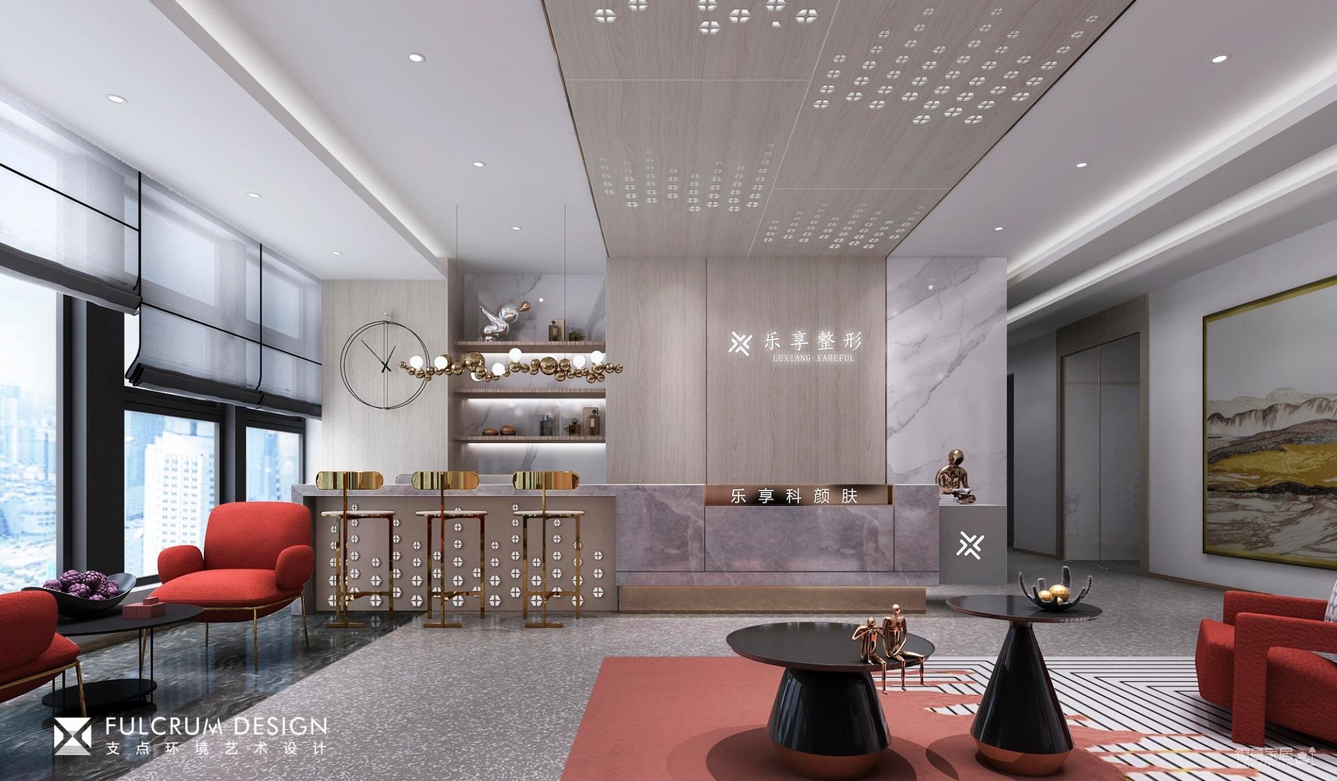广泽大厦美容院——现代725平