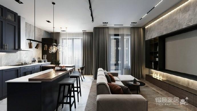 88平米公寓设计