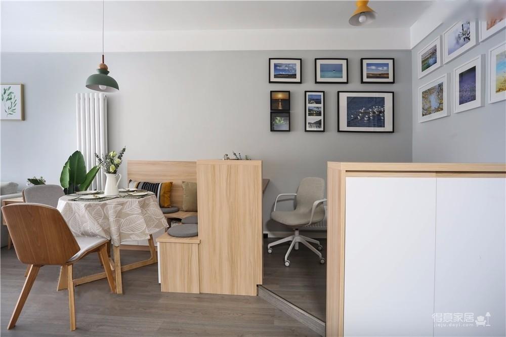 北欧轻奢三居室居家精选案例图_4