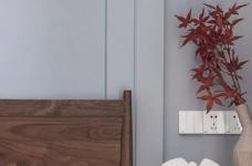 清新细腻北欧风格三居室装修,蓝色调的简约自然之美! 图_7