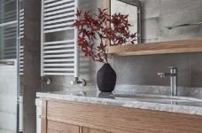 清新细腻北欧风格三居室装修,蓝色调的简约自然之美! 图_8