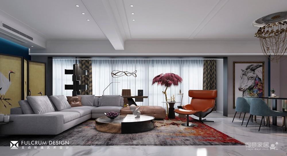 中侨观邸——意式公寓风270平
