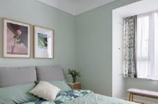 89㎡简约北欧风格家居装修设计,文艺小清新的幸福小窝图_8