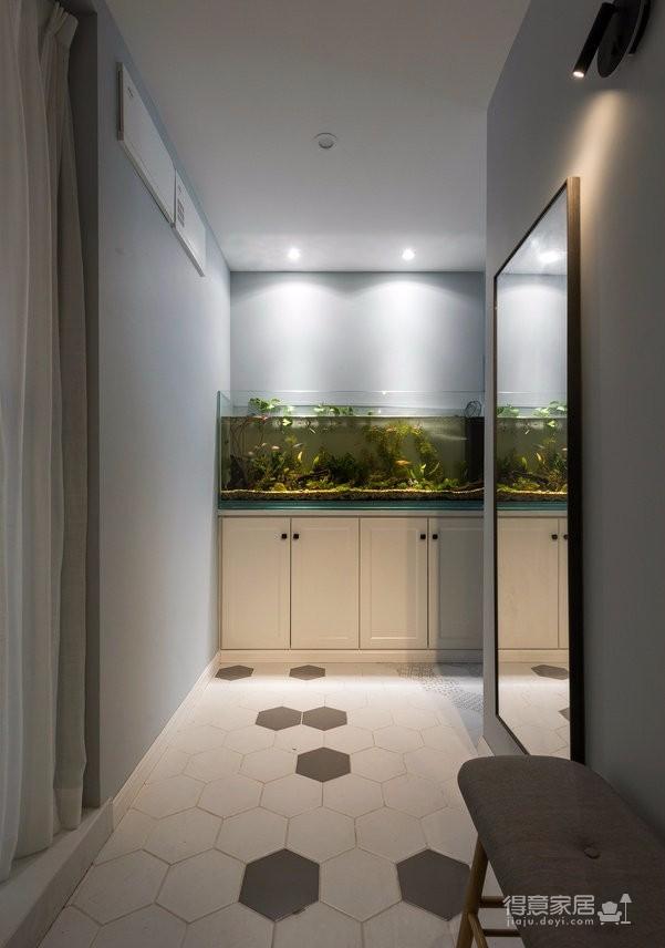 89㎡简约北欧风格家居装修设计,文艺小清新的幸福小窝图_3