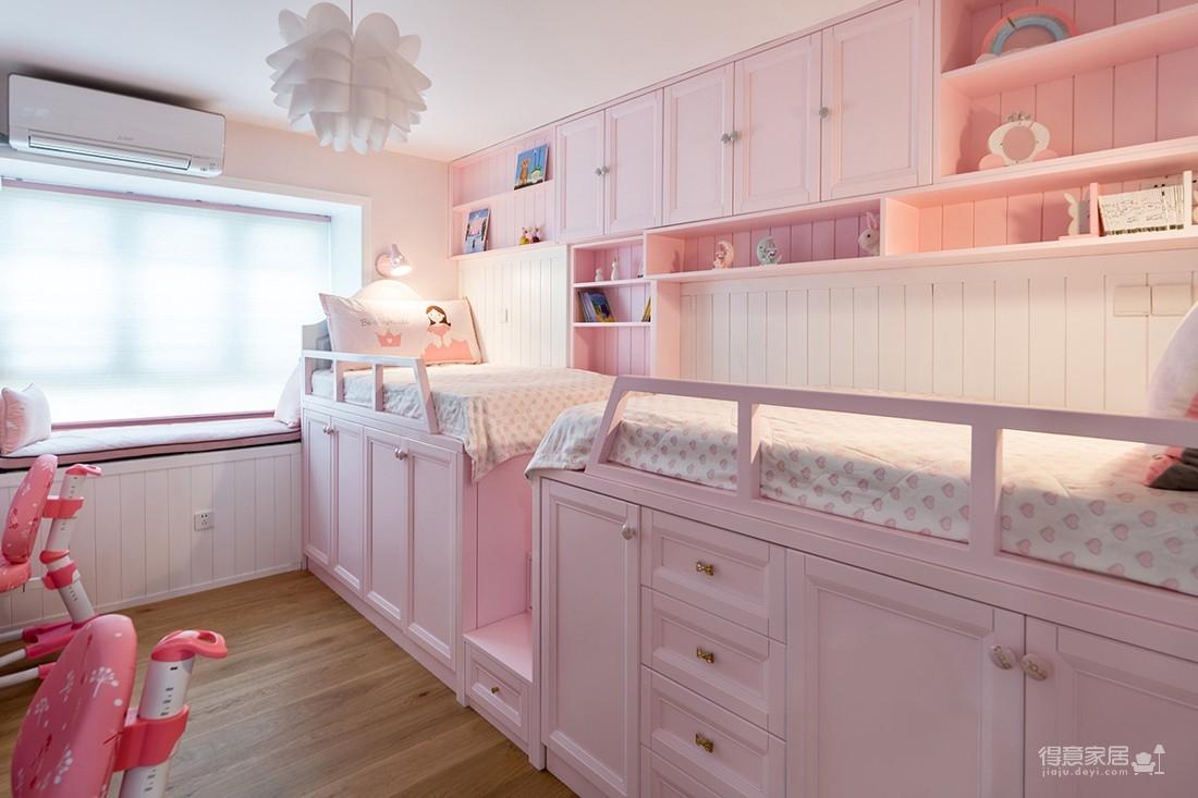 凯德悦湖112平三室两厅北欧风格装饰效果图图_10