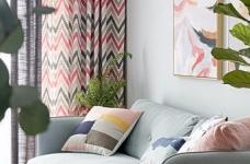 89㎡简约北欧风格家居装修设计,文艺小清新的幸福小窝图_6