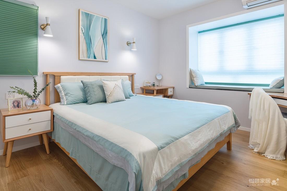 凯德悦湖112平三室两厅北欧风格装饰效果图图_4