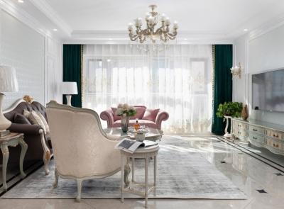 诺展星座155平四室两厅欧式风格装饰效果图